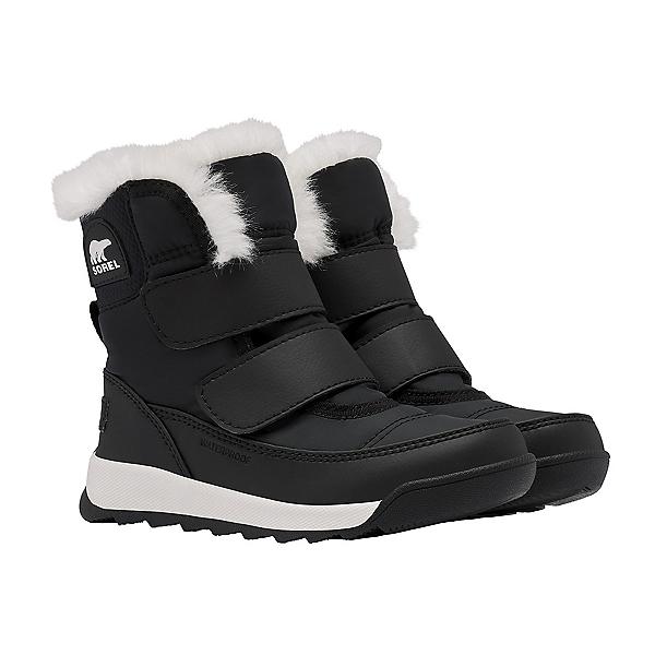 Sorel Whitney II Strap Girls Boots 2022, Black, 600
