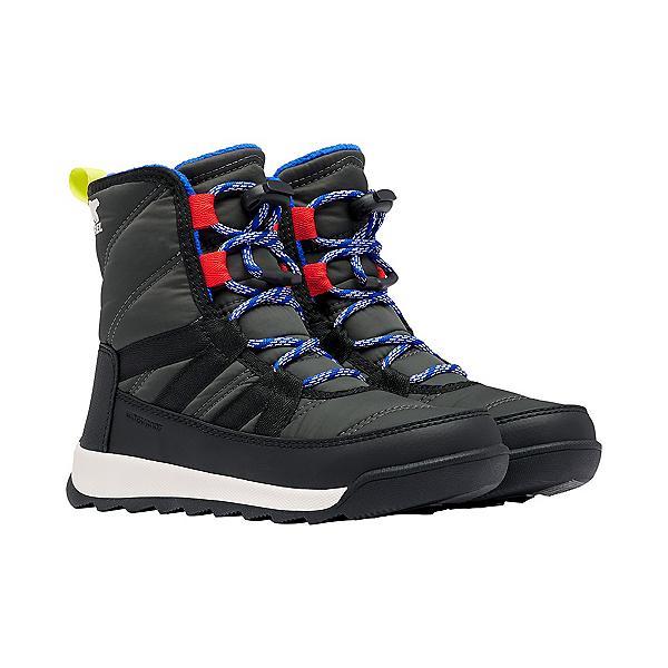 Sorel Whitney II Short Lace Girls Boots 2022, Coal, 600