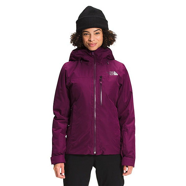 The North Face Descendit Womens Insulated Ski Jacket 2022, Pamplona Purple, 600