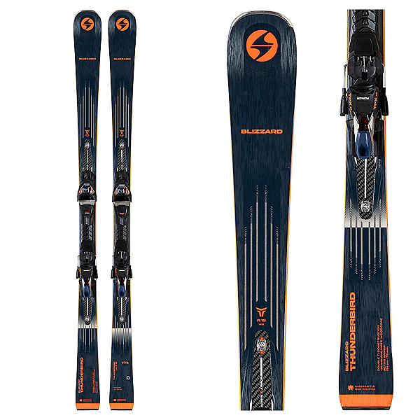 Blizzard Thunderbird R15 WB Skis with TPX 12 Bindings 2022, , 600