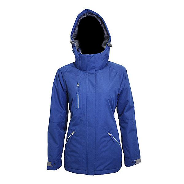 Turbine Glacier Womens Insulated Snowboard Jacket 2022, Cobalt, 600