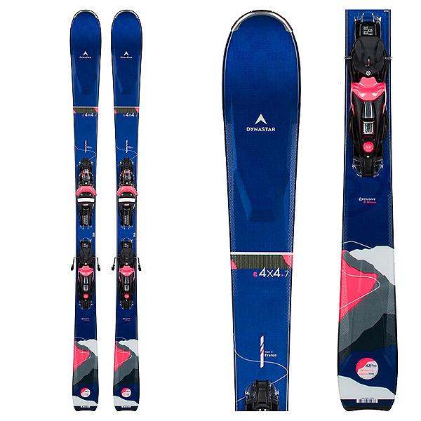Dynastar E 4x4 7 Womens Skis with NX 12 Konect GW Bindings 2022, , 600