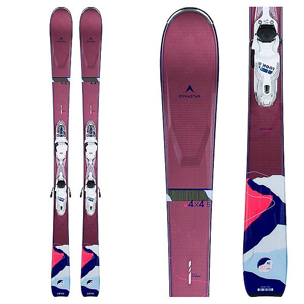 Dynastar E 4x4 5 Womens Skis with Xpress 11 GW Bindings 2022, , 600