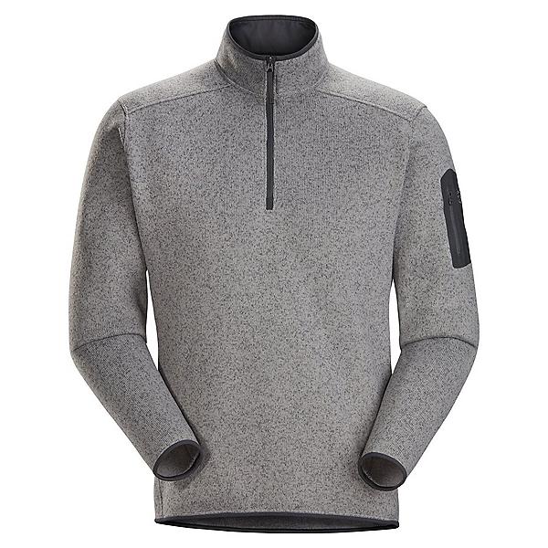Arc'teryx Covert 1/2 Zip Pullover Mens Mid Layer 2022, Binary Heather, 600