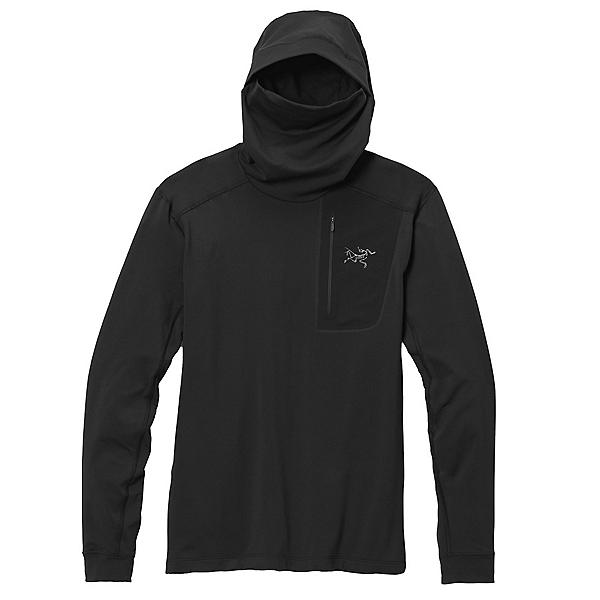 Arc'teryx Rho LT Hoodie Mens Mid Layer 2022, Black, 600