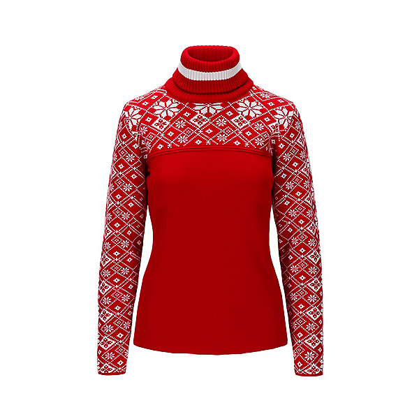 Dale Of Norway Mount Red Womens Sweater 2022, Rasberry White, 600