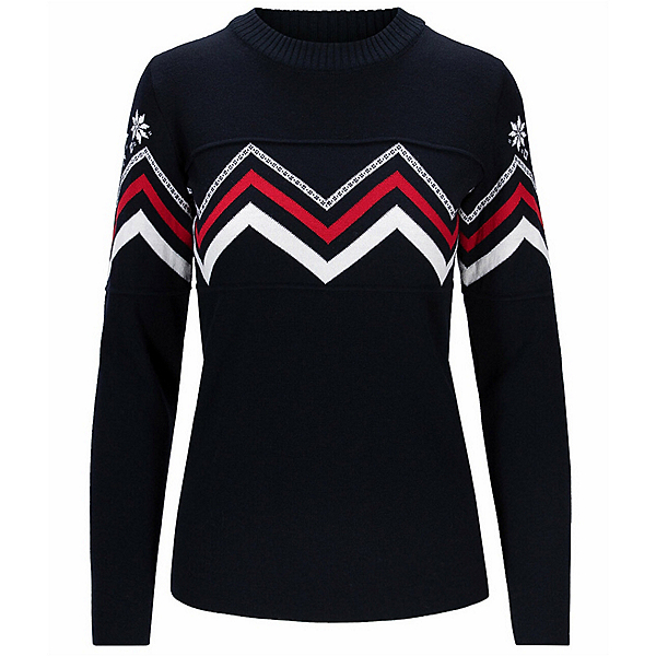 Dale Of Norway Mount Shimer Womens Sweater 2022, Navy White Rasberry, 600