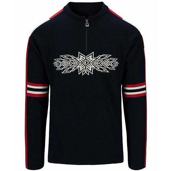Dale Of Norway OL Spirit Mens Sweater 2022, Navy Raspberry Off White, 600