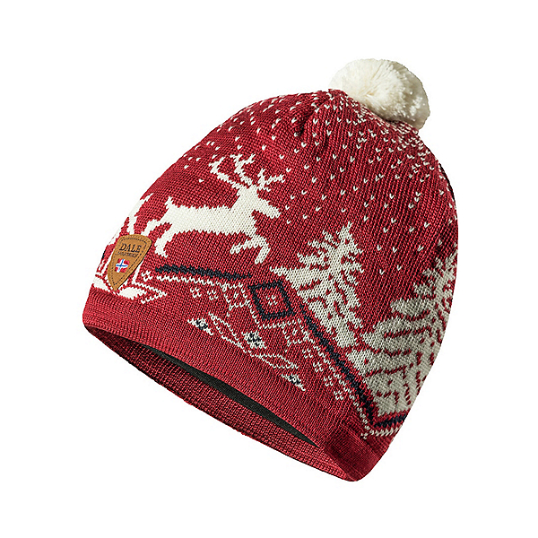 Dale Of Norway Christmas Hat 2022, Red Off White Navy, 600