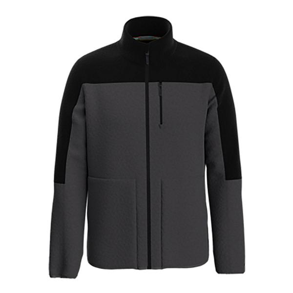 SmartWool Anchor Line Sherpa Full Zip Mens Jacket 2022, Charcoal, 600