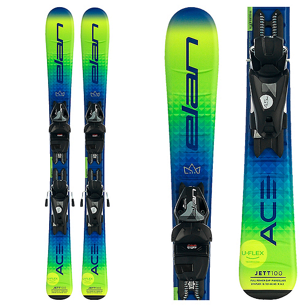 Elan Jett Kids Skis with EL 7.5 GW Bindings 2022, , 600