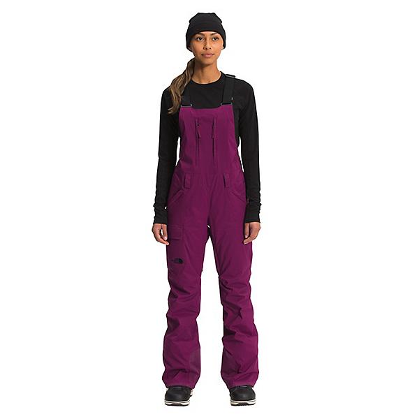 The North Face Freedom Bib - Short Womens Ski Pants 2022, Pamplona Purple, 600