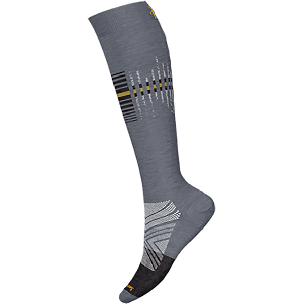 SmartWool PhD PRO Ski Race Ski Socks 2022, Medium Gray, 600