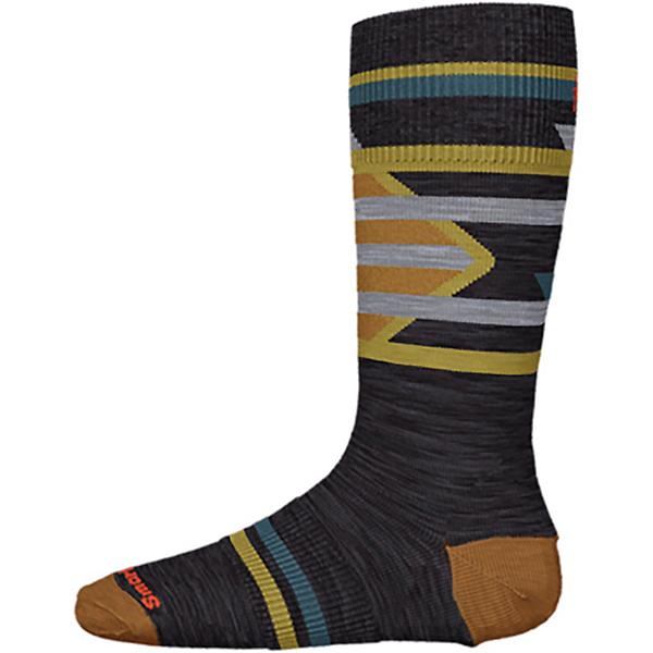 SmartWool Ski Racer Kids Ski Socks 2022, Charcoal, 600