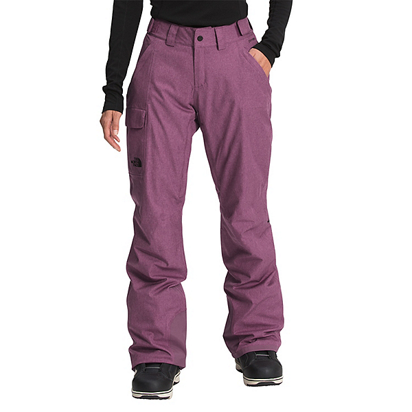 The North Face Freedom Insulated Womens Ski Pants 2022, Pikes Purple Heather, 600