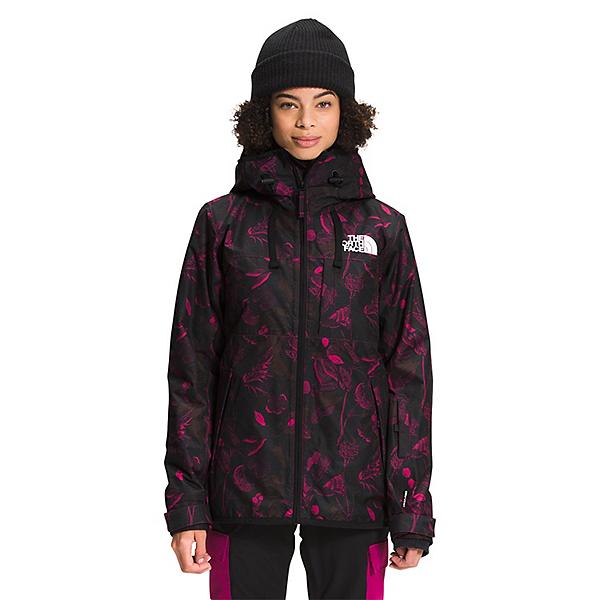 The North Face Superlu Womens Insulated Ski Jacket 2022, Roxbury Print Halftone Floral Print, 600