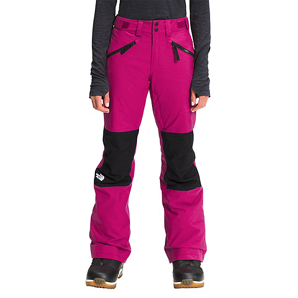 The North Face Aboutaday Womens Ski Pants 2022, Roxbury Pink-TNF Black, 600
