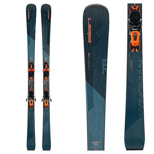 Elan Wingman 78 C Skis with EL 10 GW Bindings 2022, , 600