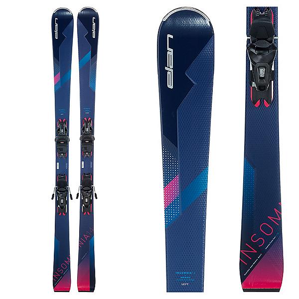 Elan Insomnia 14 TI Womens Skis with ELW 9 GW Bindings 2022, , 600