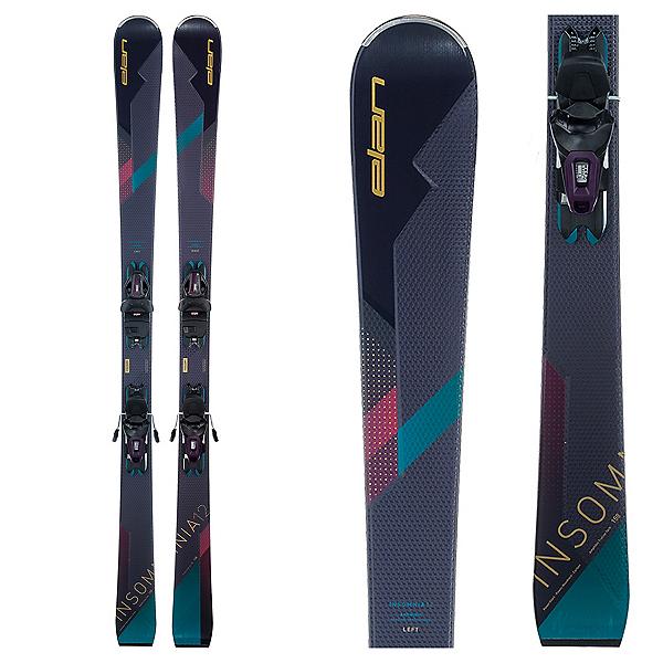Elan Insomnia 12 C Womens Skis with ELW 9 GW Bindings 2022, , 600