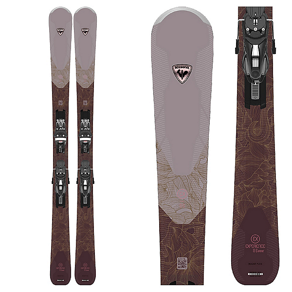 Rossignol Experience 86 Basalt Womens Skis with NX 12 Konect GW Bindings 2022, , 600