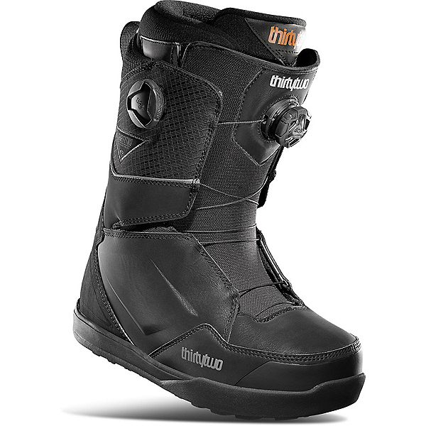ThirtyTwo Lashed Double BOA Snowboard Boots 2022, Black-Charcoal, 600