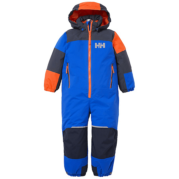 Helly Hansen Rider 2 Insulated Suit Toddler Boys Ski Pants, Sonic Blue, 600