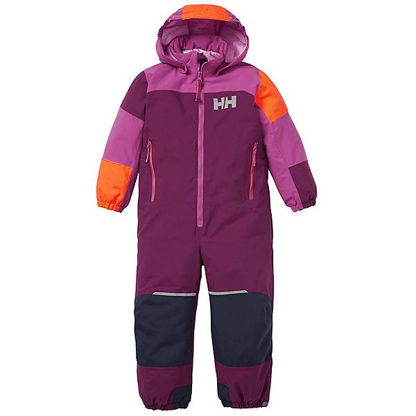 Helly Hansen Rider 2 Insulated Girls Toddler Snow Suit, Purple Potion, 600