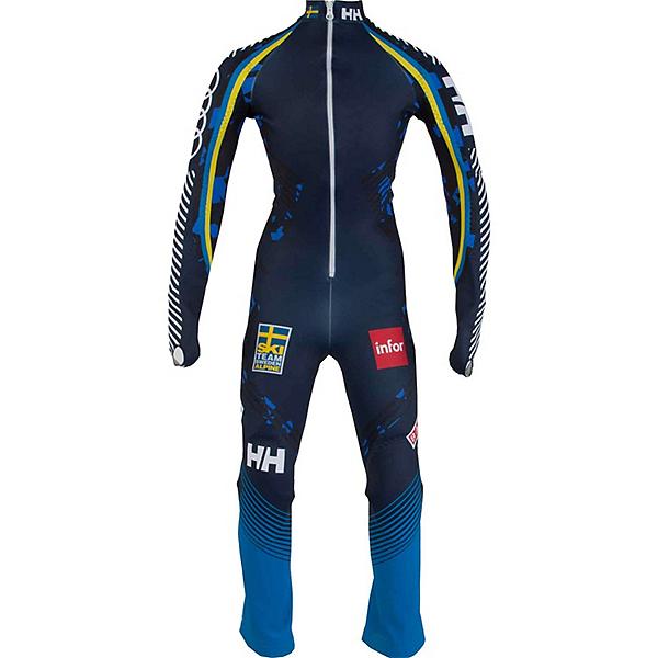 Helly Hansen Junior GS Speed Suit, Navy Blue Camo, 600