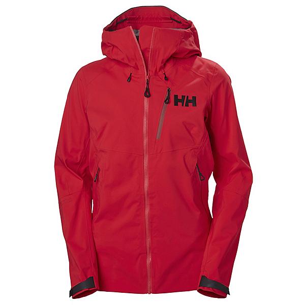Helly Hansen Odin Mountain 3L Womens Shell Ski Jacket, Raspberry, 600