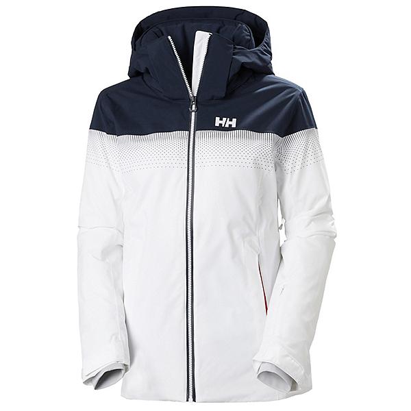 Helly Hansen Motionista LifaLoft Womens Insulated Ski Jacket, White, 600