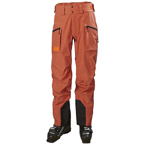 Helly Hansen Elevation Shell 3.0 Mens Ski Pants, Patrol Orange, 600