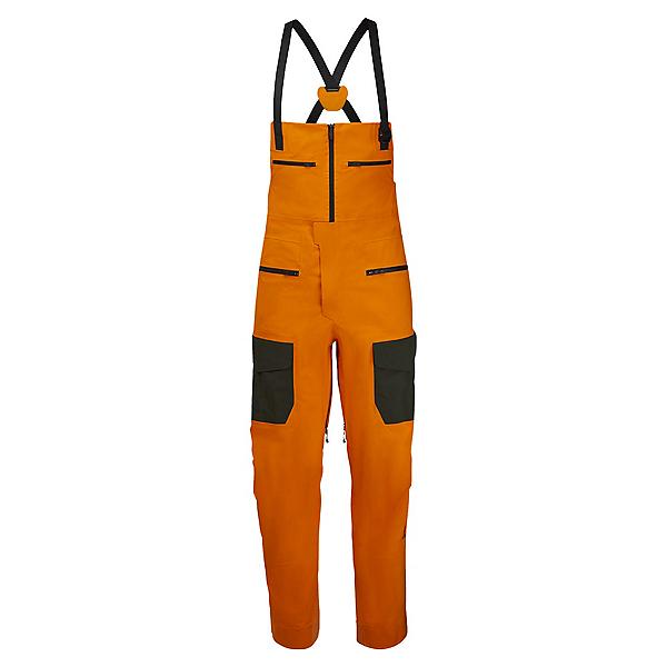 The North Face A-CAD FUTURELIGHT Bib Mens Ski Pants 2022, Vivid Orange-Rosin Green, 600