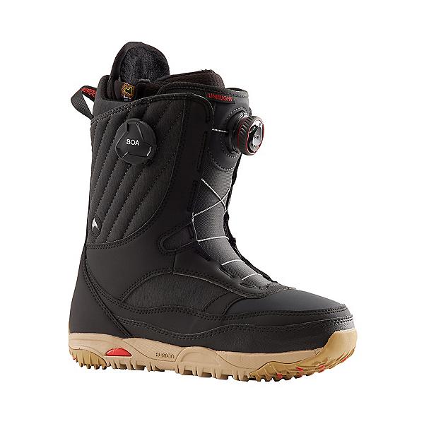 Burton Limelight BOA Womens Snowboard Boots 2022, Black, 600