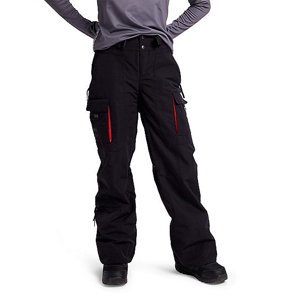 Burton Amora Womens Snowboard Pants 2022, True Black, 600