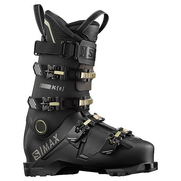 Salomon S/Max 130 GW Ski Boots 2022, Black-Belluga-Pale Khaki, 600