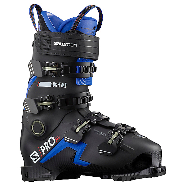Salomon S/Pro HV 130 GW Ski Boots 2022, Black-Race Blue, 600