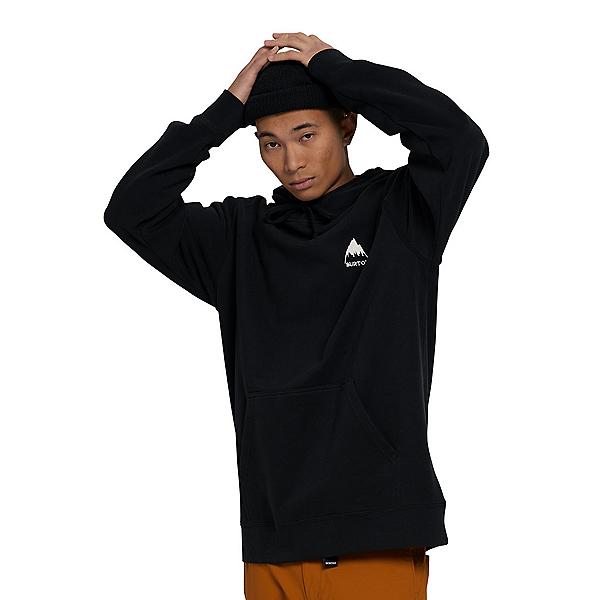 Burton Mountain Pullover Mens Hoodie 2022, True Black, 600