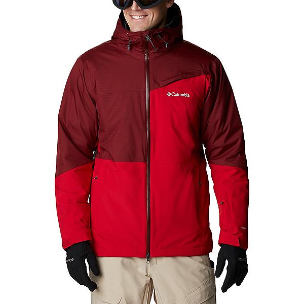 Columbia Iceberg Point Mens Insulated Ski Jacket 2022, Mountain Red-Red Jasper, 600