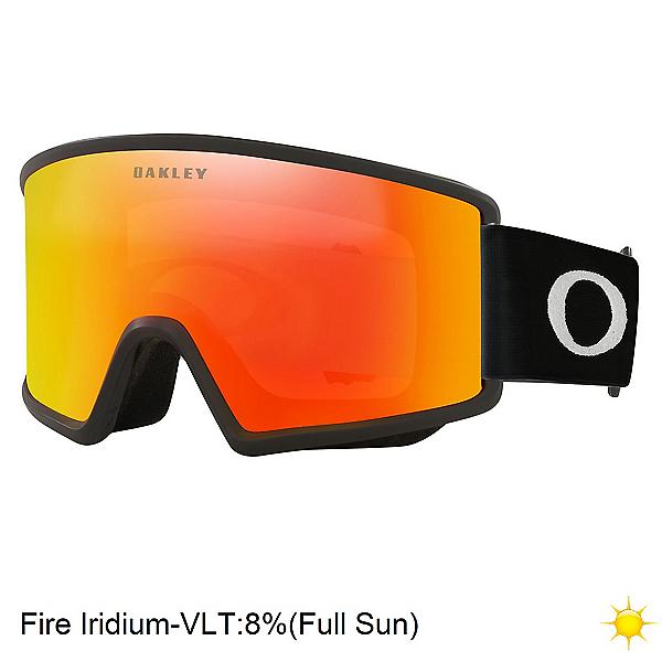 Oakley Target Line M Goggles 2022, Matte Black-Fire Iridium, 600