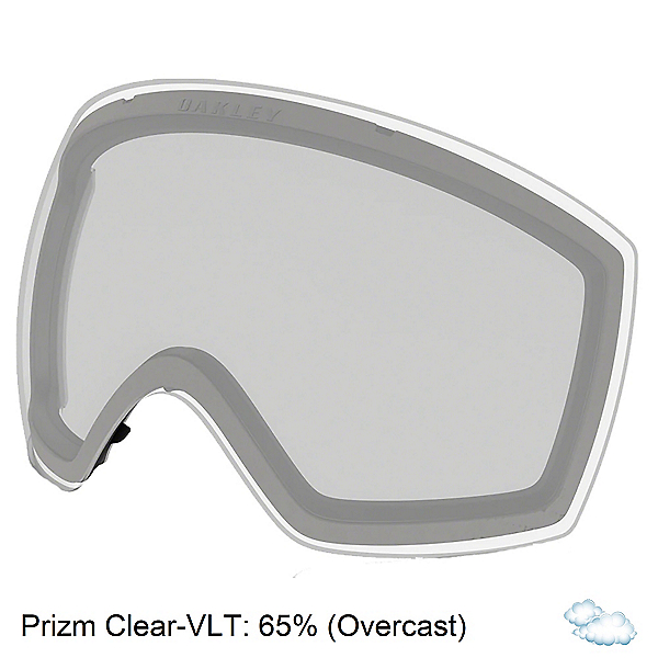 Oakley Flight Deck M Goggle Replacement Lens 2022, Prizm Clear, 600