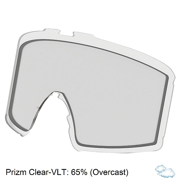 Oakley Line Miner L Goggle Replacement Lens 2022, Prizm Clear, 600