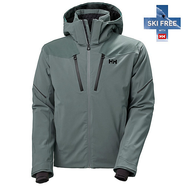 Helly Hansen Steilhang Mens Insulated Ski Jacket 2022, Red, 600