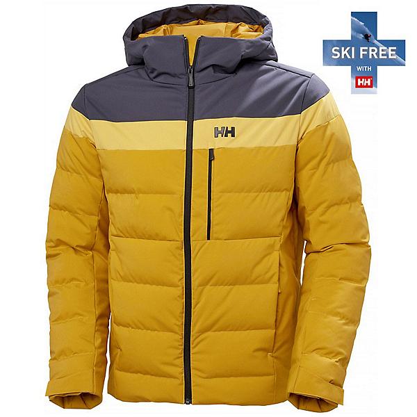 Helly Hansen Bossanova Puffy Mens Insulated Ski Jacket 2022, Arrowwood, 600