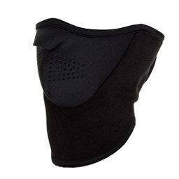 Seirus NeoFleece Combo Neck Warmer, Black, 256