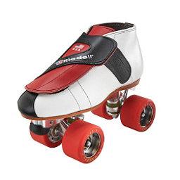 Riedell 911 Jammer Boys Jam Roller Skates, Red, 256