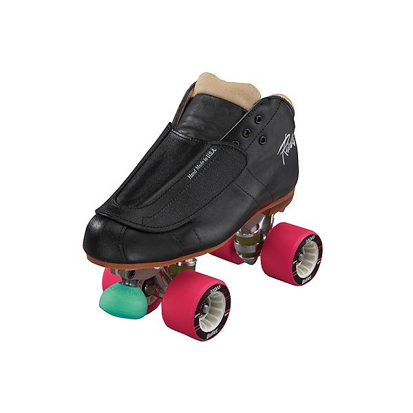 Riedell 965 Minx Womens Derby Roller Skates, Black, 600