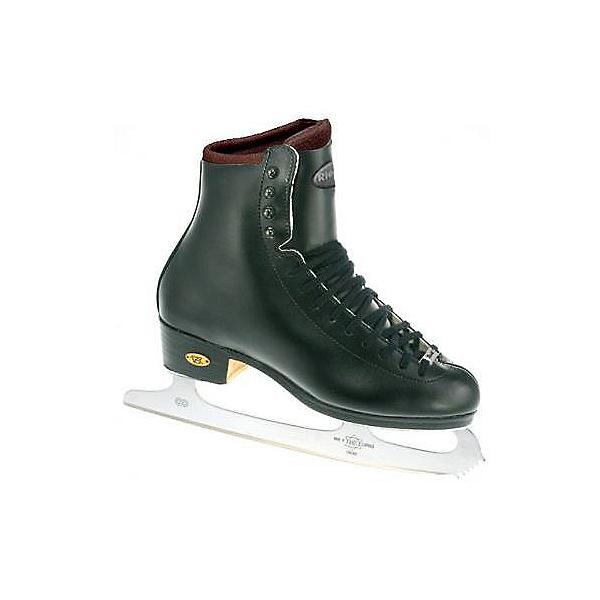 Riedell Black 25J TS Kids Figure Ice Skates, , 600